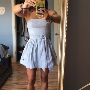 Strapless A&F dress